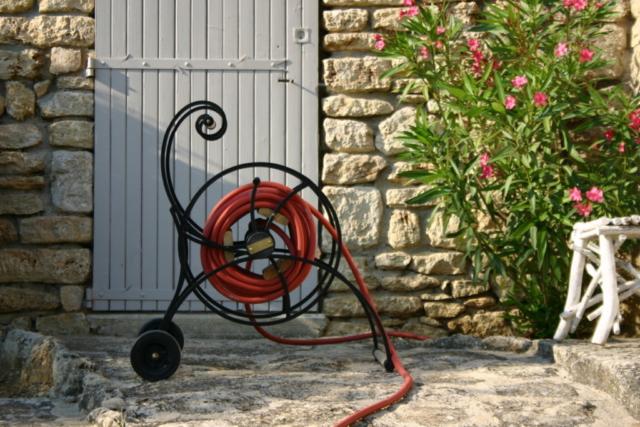 Waterette- Der nostalgische Gartenschlauchwagen