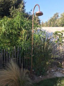 Aussendusche & Gartendusche selber bauen