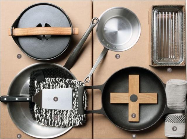 Koch-Set aus Paris