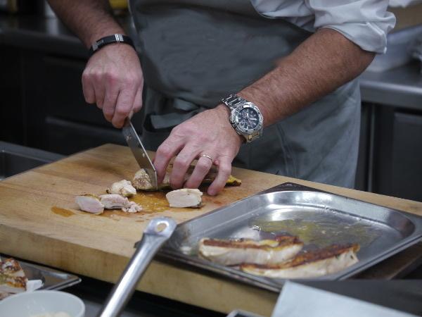 Damastmesser in der Küche von Malle W. Trousseau