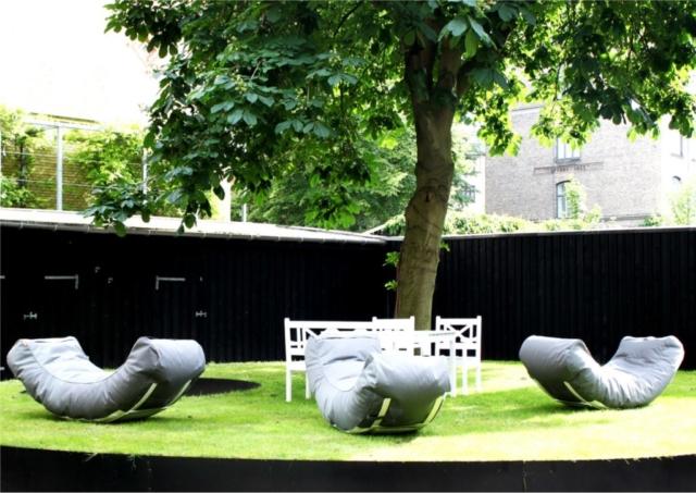 Garten Sitzkissen von trimm in grau
