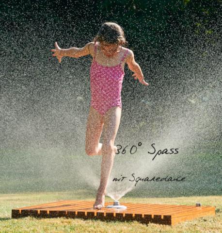 Gartendusche Squaredance