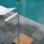 Outdoor Shower Cascade