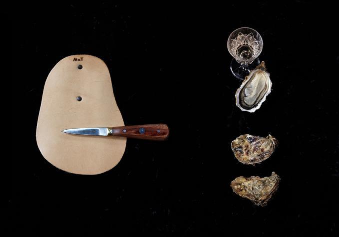 Austernmesser aus der französischen Küche.