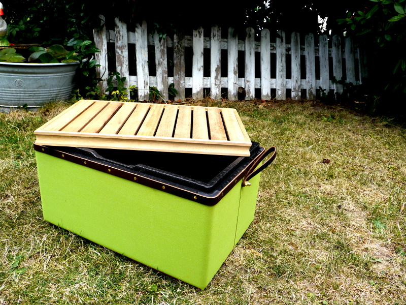 Thermobox in Lime-green