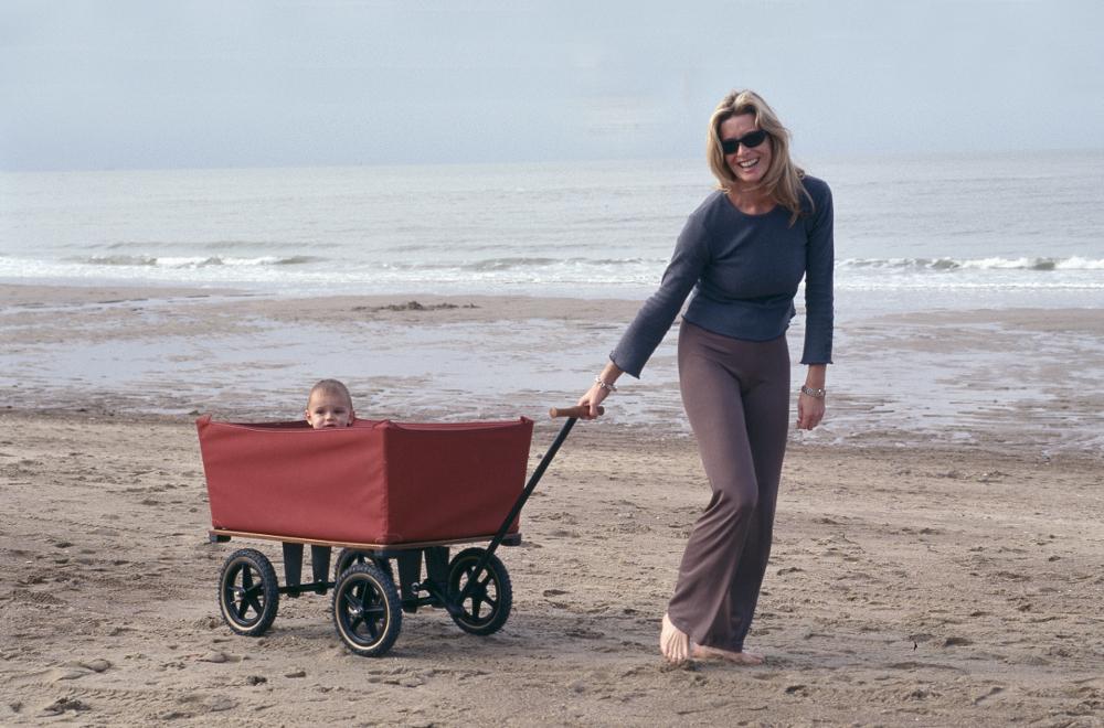 Leichtgängige Transportwagen mit Style für Strand und Camping
