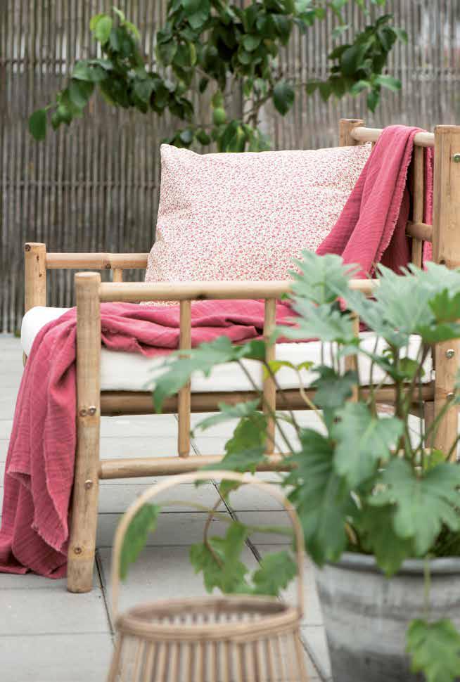 Gartenstühle und Decken