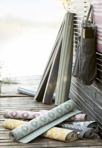 Hübsche Teppiche aus Skandinavien von Ib Laursen