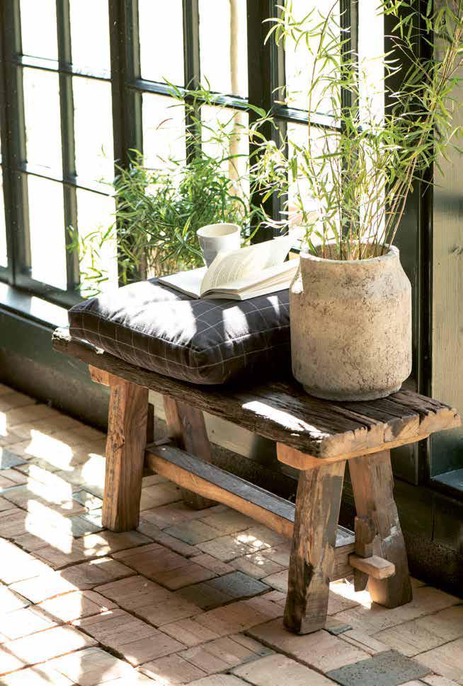 Deko-Holzbänke aus Skandinavien von Ib Laursen