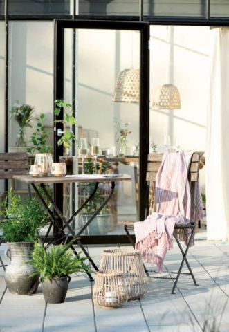 Gartenmöbel aus Skandinavien von Ib Laursen