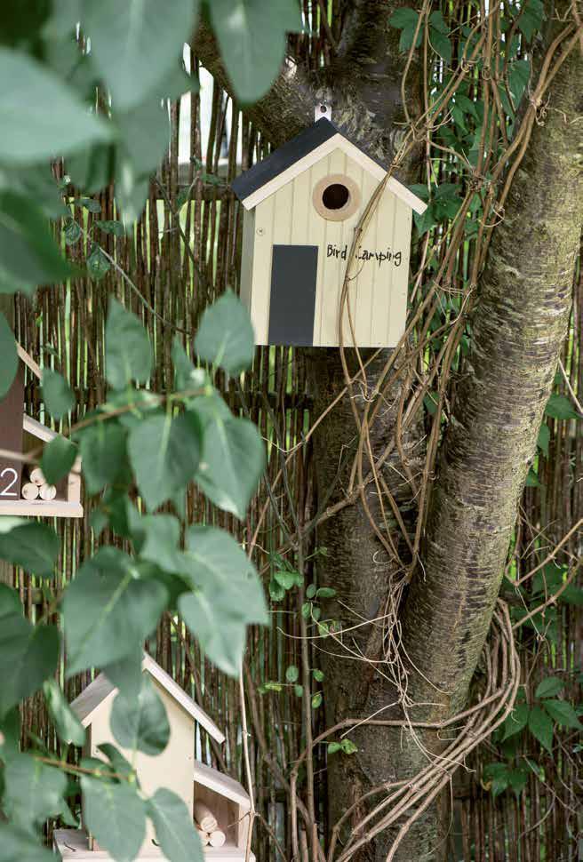 Vogelhaus aus Skandinavien von Ib Laursen
