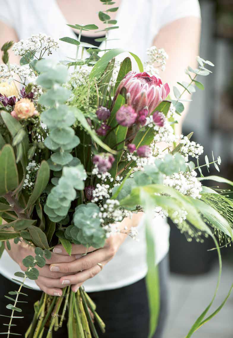 Blumenstrauß aus Skandinavien von Ib Laursen