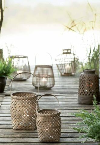 Gartenlampen mit Ib Laursen aus Dänemark