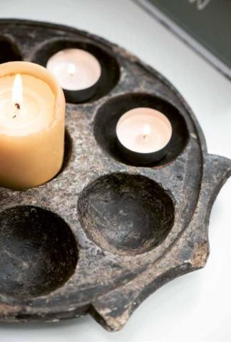 Kerzen, Seifen und Gästetücher aus Skandinavien von Ib Laursen