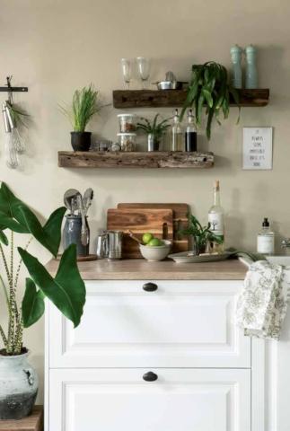 Küchendesign im Landhausstil