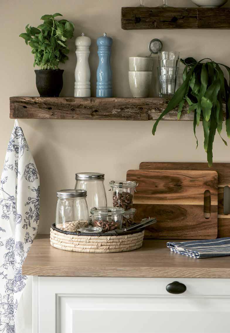 Nordischer Küchenstil mit Landhauscharakter