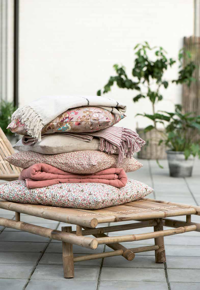 Schicke Kissen und Quilts