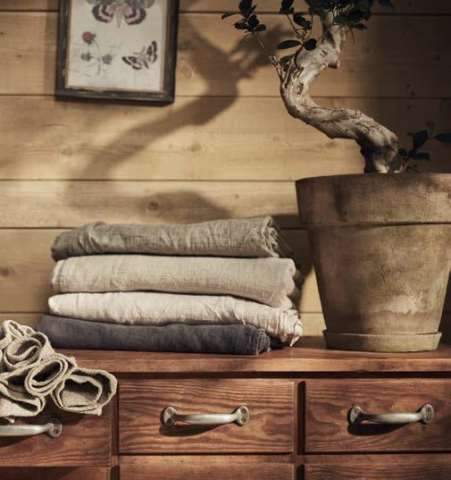 Hamamtücher und Strandtücher aus schickem Leinen