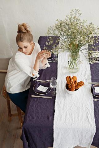 Hochwertige Tischdecken von MagicLinen