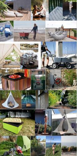 Outdoor, Gartendusche und Picknick
