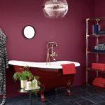 Badezimmerbeleuchtung von ebb und flow, red, copper
