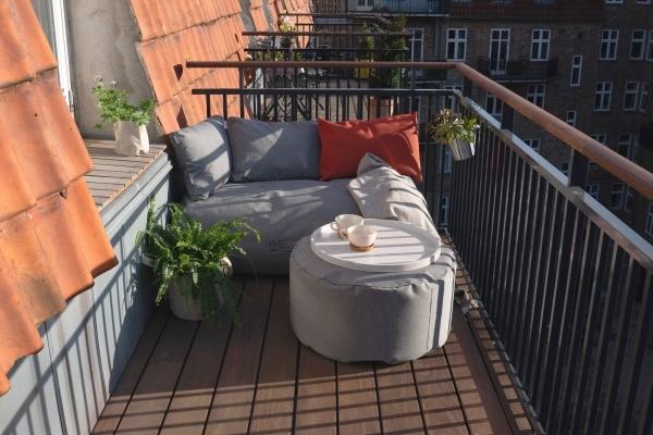 Garten Accessoires Lounge Cozy Balcony Outdoor Online Shop, drei Kissen