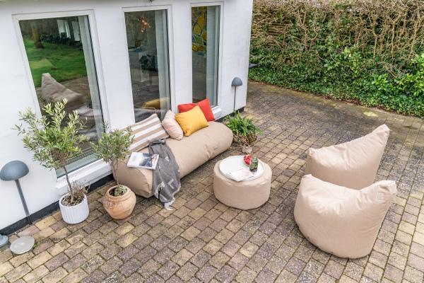 Outdoor und Terrassenmöbel social terrace von Trimm Copenhagen, 3er Kombi
