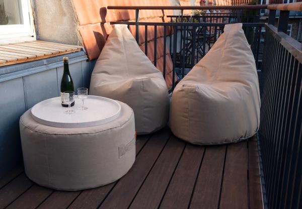Outdoor und Terrassenmöbel weekend balcony von Trimm Copenhagen, 2er Kombi