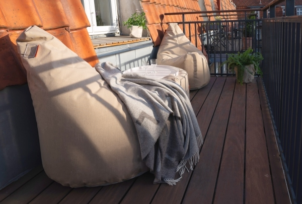 Garten Accessoires Lounge Social Terrace Outdoor Online Shop mit Plaidt