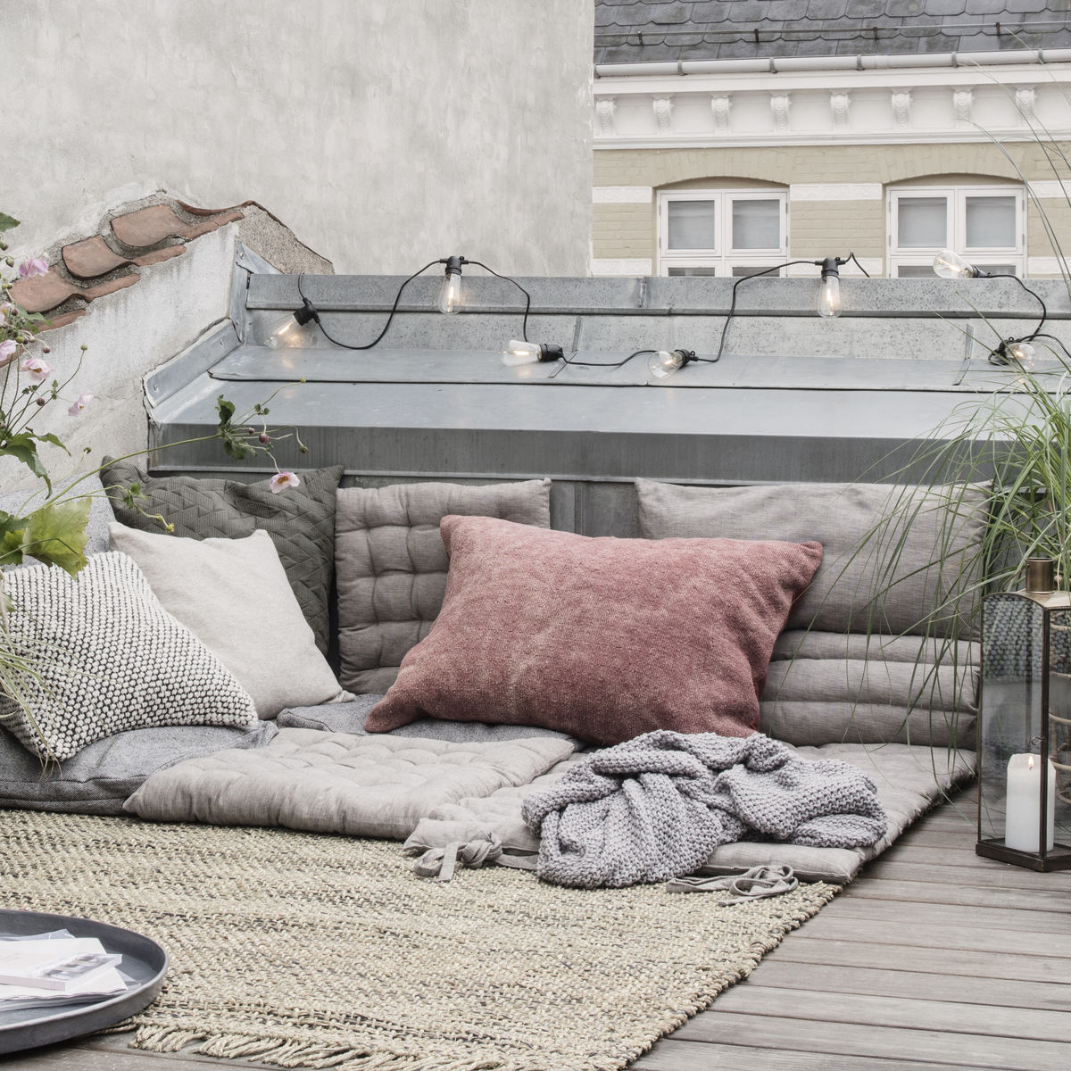 House Doctor Outdoor Lounge Matraze