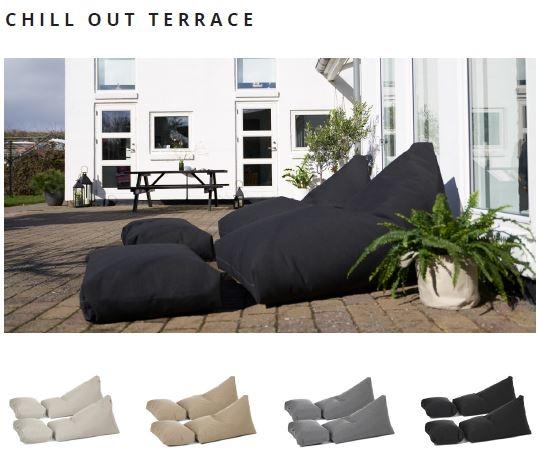 Outdoor und Terrassenmöbel chill out terrace von Trimm Copenhagen, 2er