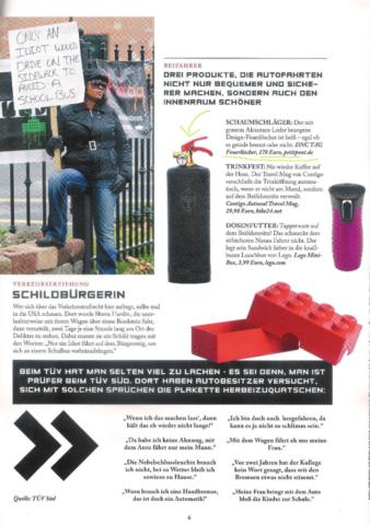 Feuerlöscher von DNC, Copyright Nissan Magazin