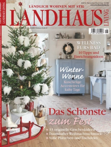 Petit Pont in Landhaus Living, Copyright Landhaus Living 06/2013