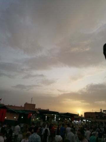 Wohnaccessoires, Dekoration, ChabiChic, Jemaa el-Fna, Sonnenuntergang