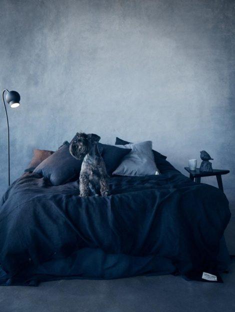 Bettwäsche Online Shop Misty Night von Lovely Linen