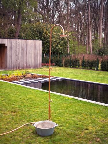 DIY Gartendusche zum Selbstaufbau