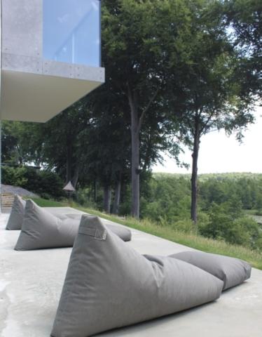 Skandinavische Sitzsäcke für Hotel und Gastronomie