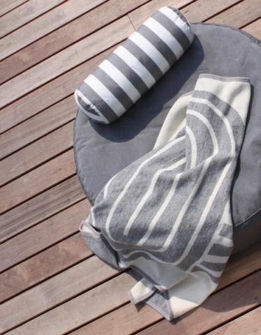 Farb- und Musterbeispiele für die Gartenmöbel