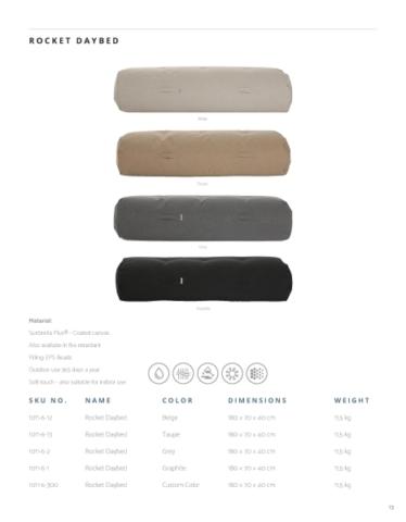 Sitzsäcke und Liegesäcke zum entspannen in vier Farben