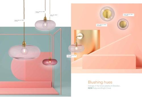 Skandinavische Designlampen aus Glas - Ovale Hängelampen von Ebb & Flow