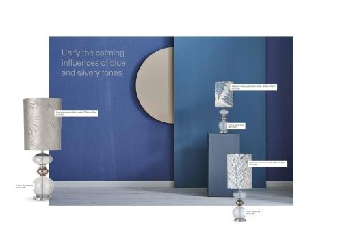 Skandinavische Designlampen aus Glas - Moderne Stehlampen mit Textilbespannung