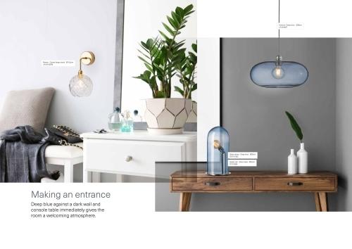 Skandinavische Designlampen aus Glas - Komodenlampen und Esstischbeleuchtung