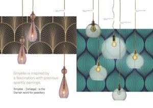 Skandinavische Designlampen aus Glas