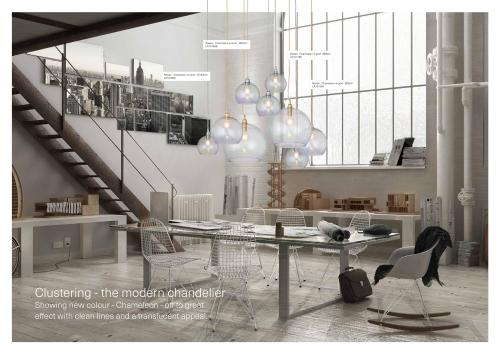 Skandinavische Designlampen aus Glas - Kristallhängelampen aus Skandinavien