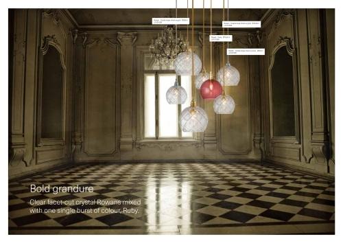 Skandinavische Designlampen aus Glas - Nordische Kristalleuchten in rund