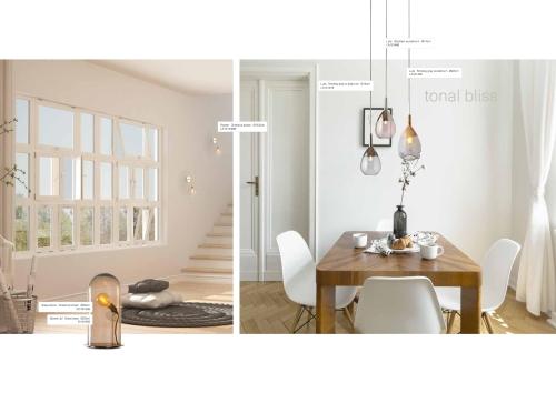 Skandinavische Designlampen aus Glas - Skandinavische Lampen am Esstisch