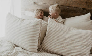 linen bding and clothing for kids