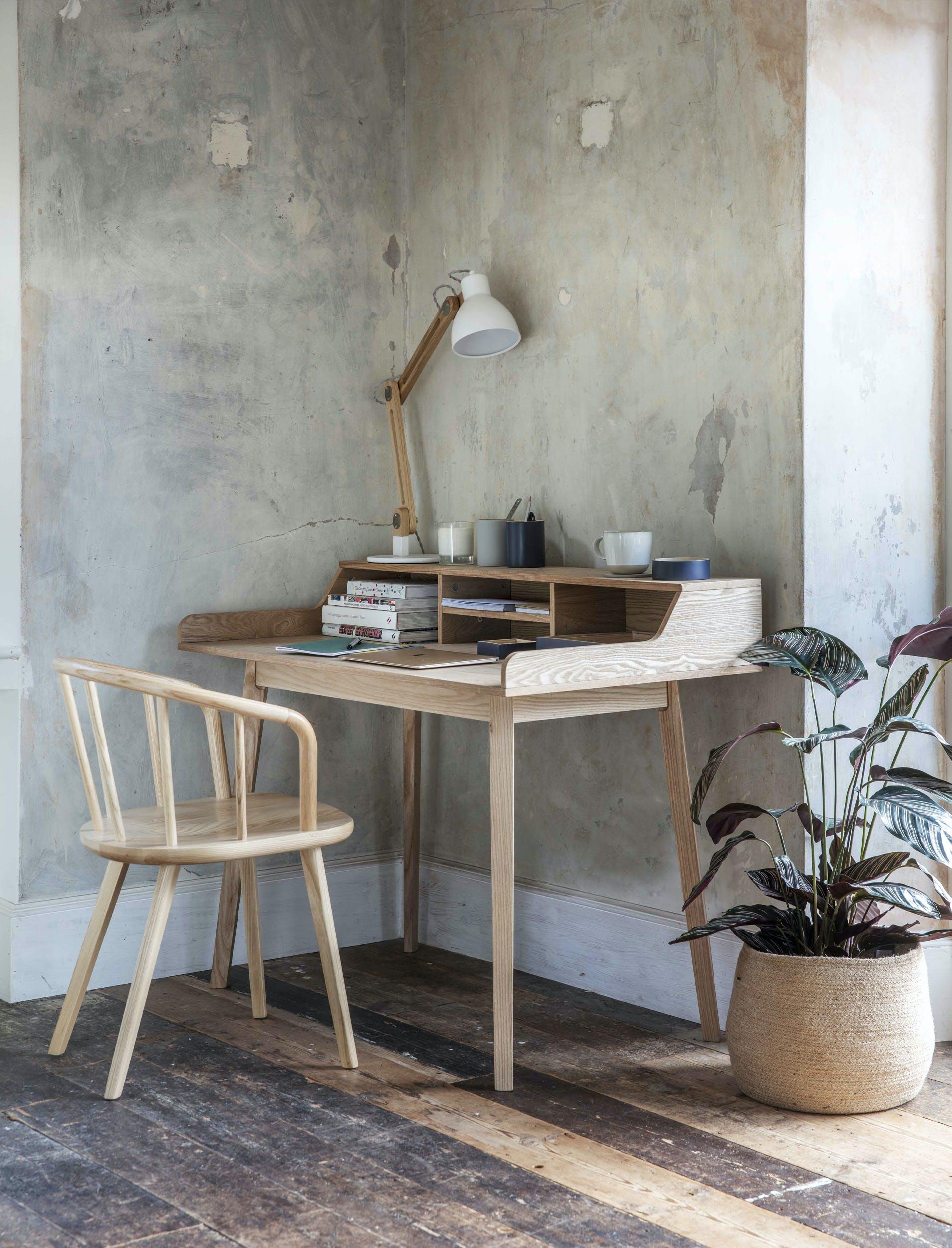 Home Office aus Eiche
